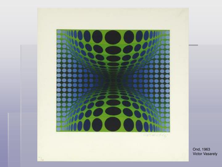 Ond, 1963  Victor Vasarely
