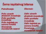 ema kapitalnog bilansa