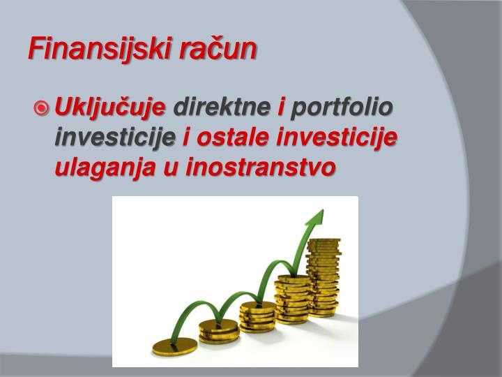 Finansijski račun