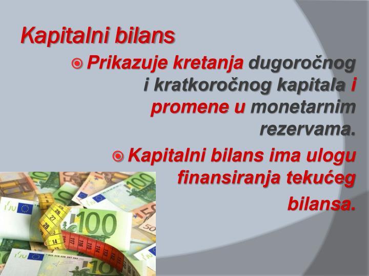 Kapitalni bilans
