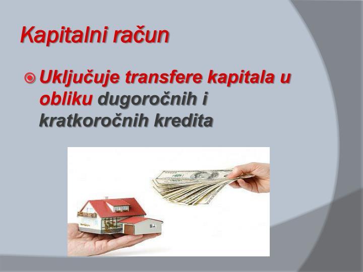 Kapitalni račun