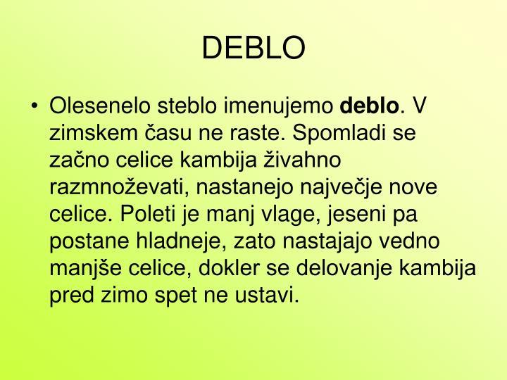 DEBLO