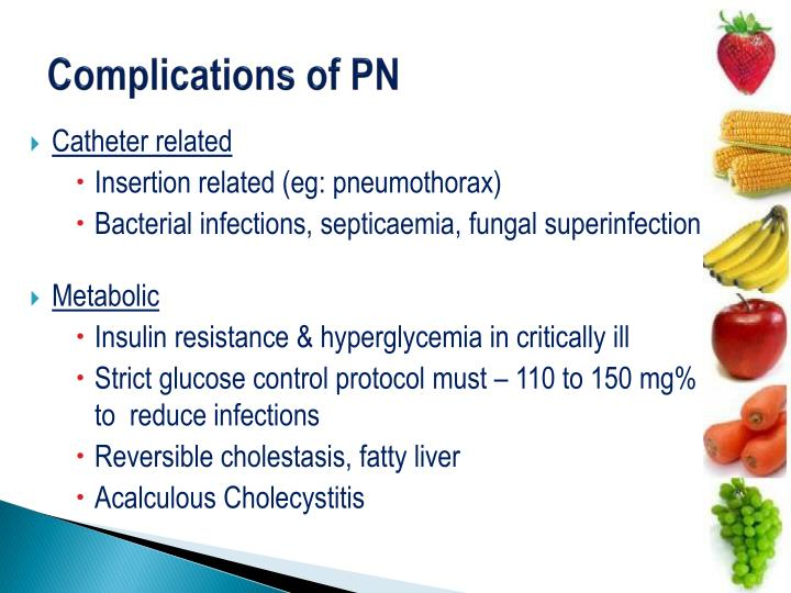 Complications of PN