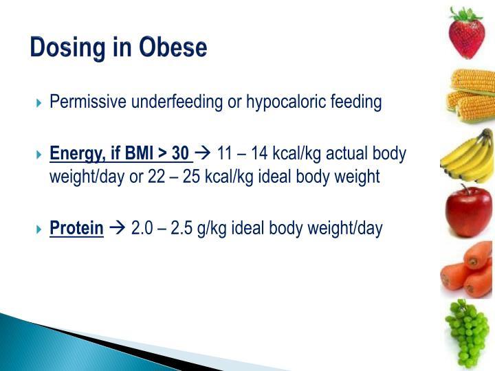 Dosing in Obese
