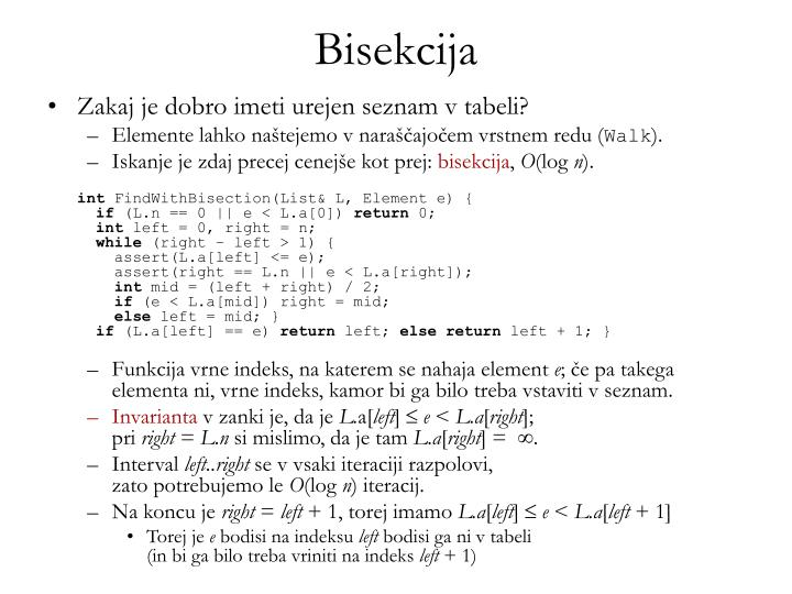 Bisekcija