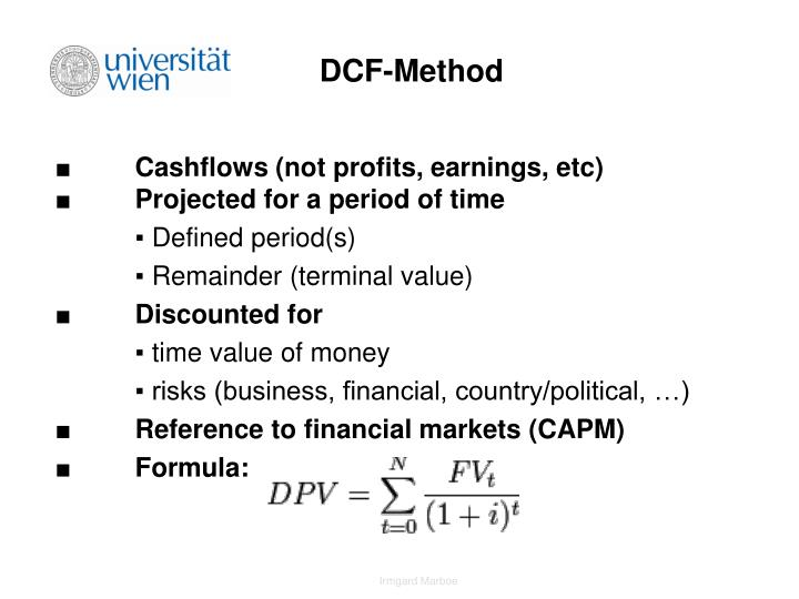 DCF-Method