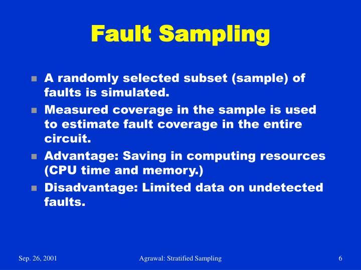 Fault Sampling
