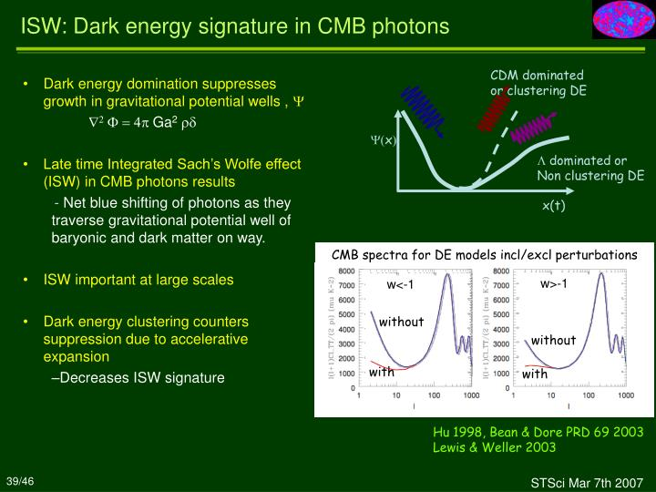 Dark energy domination suppresses growth in gravitational potential wells ,