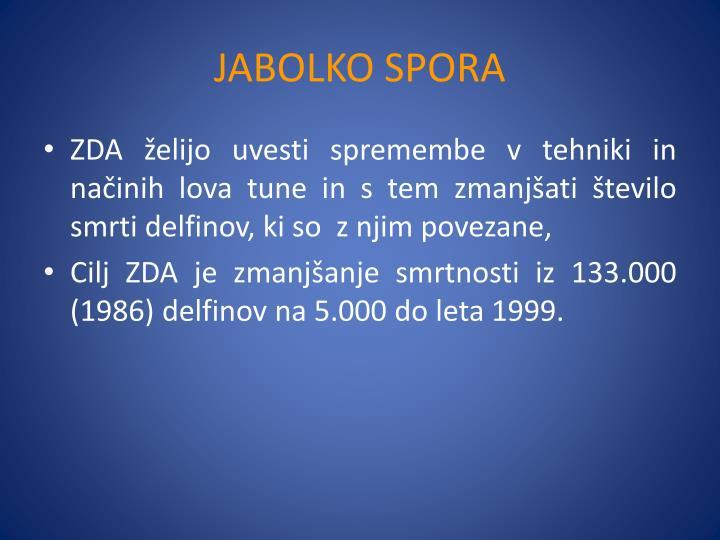 JABOLKO SPORA
