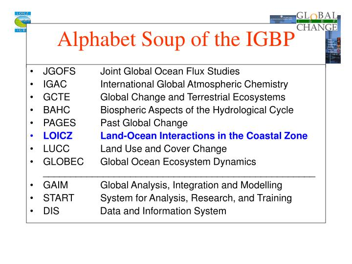 JGOFSJoint Global Ocean Flux Studies