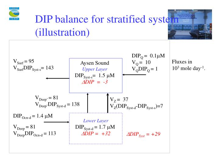 DIP balance for stratified system