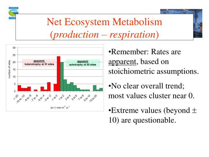 Net Ecosystem Metabolism