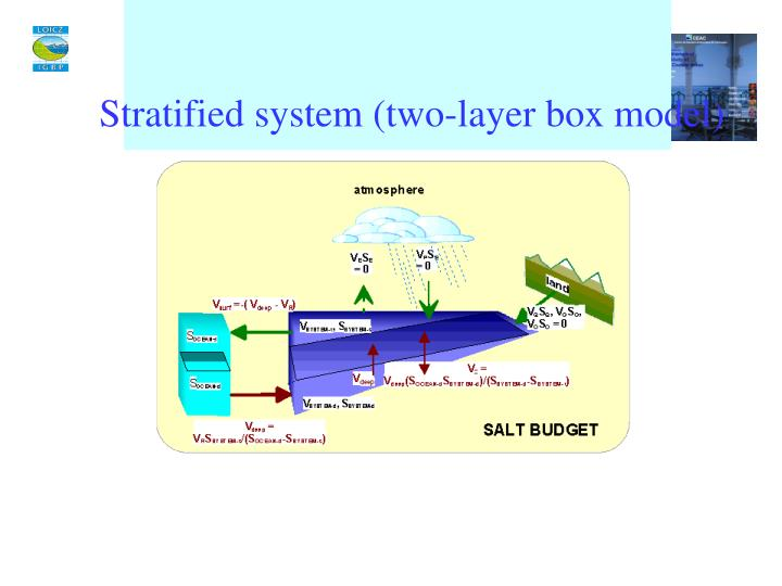 Stratified system (two-layer box model)