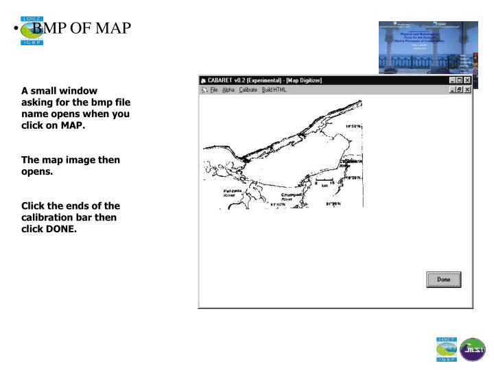 BMP OF MAP