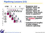 pipelining lessons 2 2