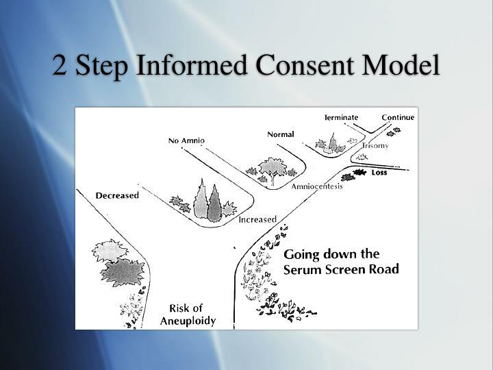2 Step Informed Consent Model