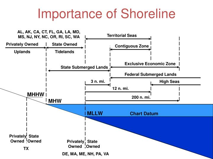 Importance of Shoreline