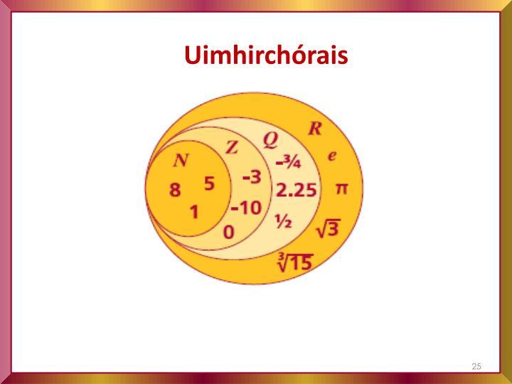 Uimhirchórais