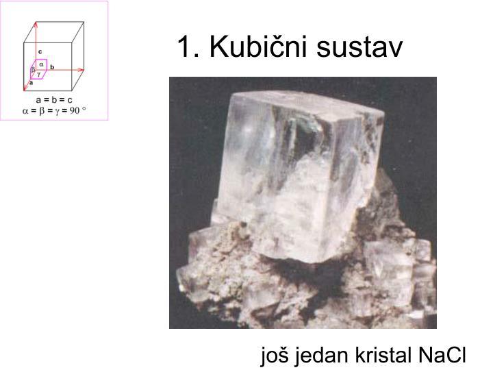 1. Kubični sustav