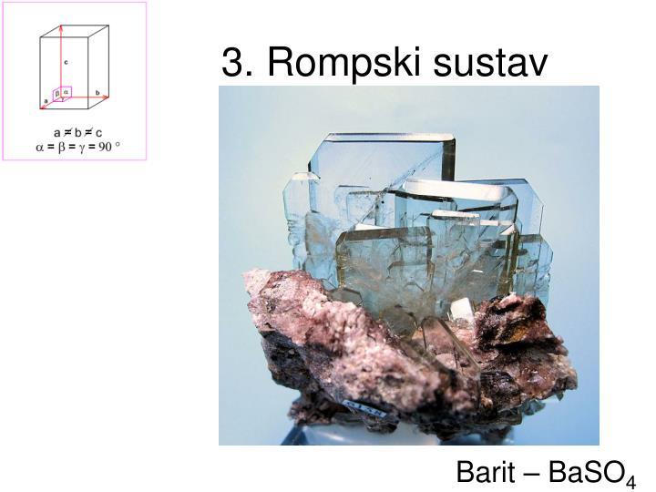 3. Rompski sustav