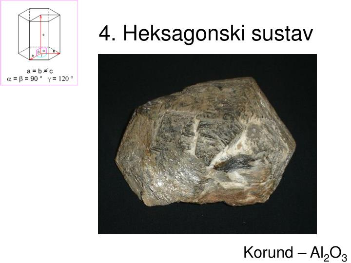 4. Heksagonski sustav