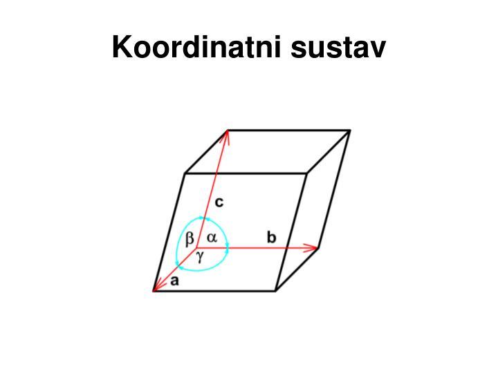 Koordinatni sustav