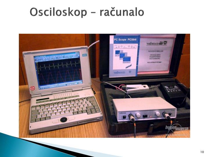 Osciloskop – računalo