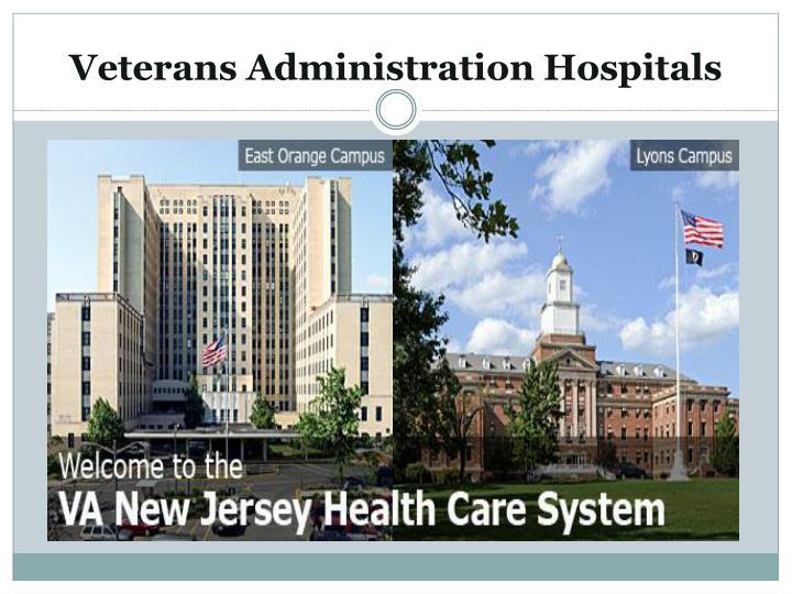 Veterans Administration Hospitals