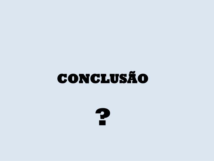 CONCLUS