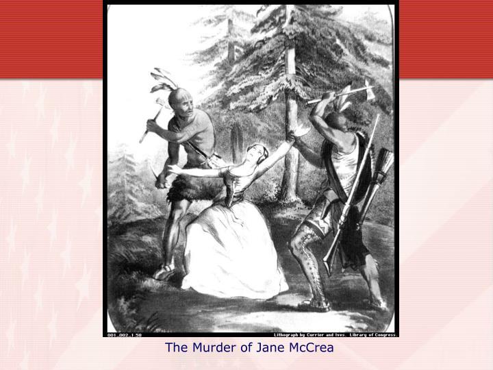 The Murder of Jane McCrea