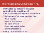 the philadelphia convention 1787