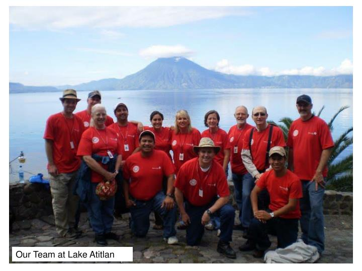 Our Team at Lake Atitlan