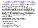9 4 analiza efikasnosti imovine