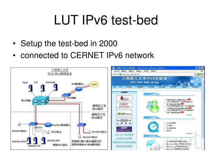 LUT IPv6 test-bed
