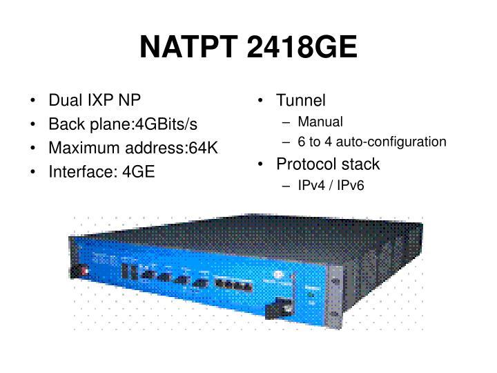 NATPT 2418GE