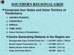 southern regional grid