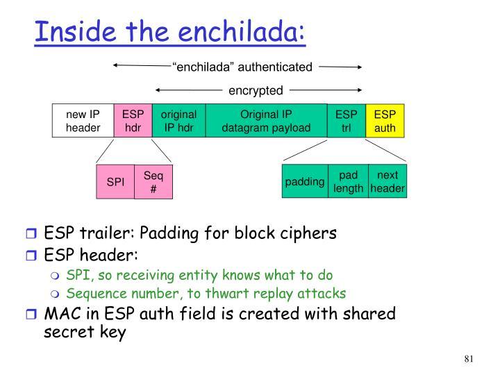 """enchilada"" authenticated"