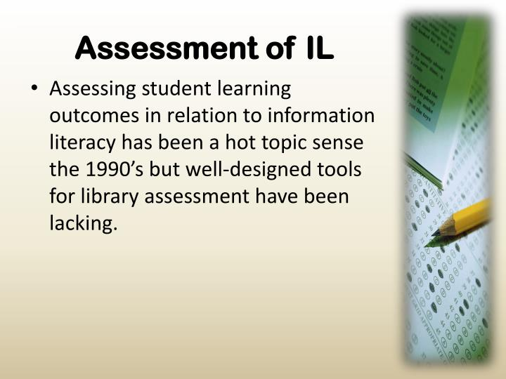 Assessment of il