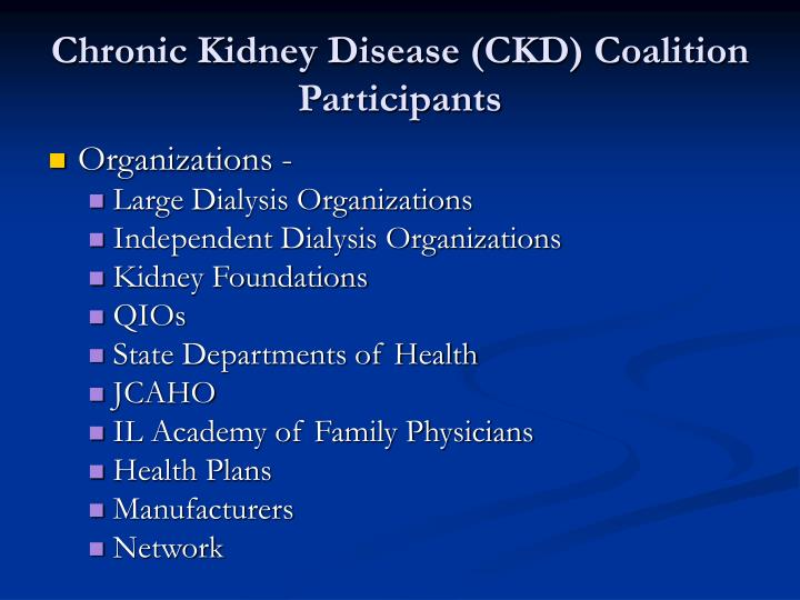 Chronic Kidney Disease (CKD) Coalition