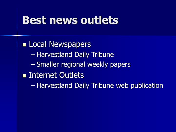 Best news outlets