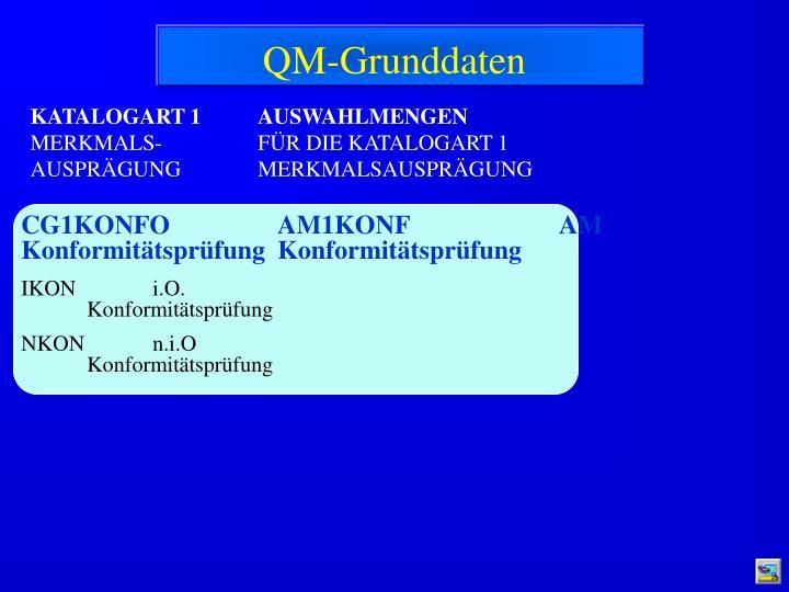 QM-Grunddaten