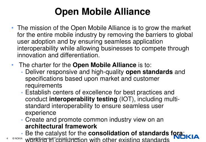 Open Mobile Alliance