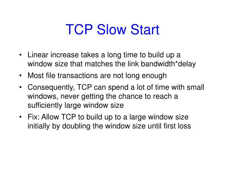TCP Slow Start