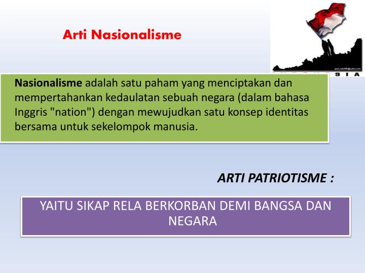 ARTI PATRIOTISME