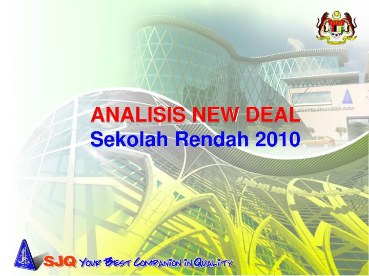 ANALISIS NEW DEAL