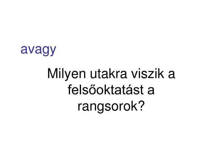 avagy