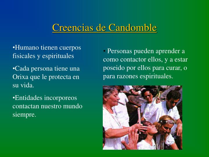 Creencias de Candomble