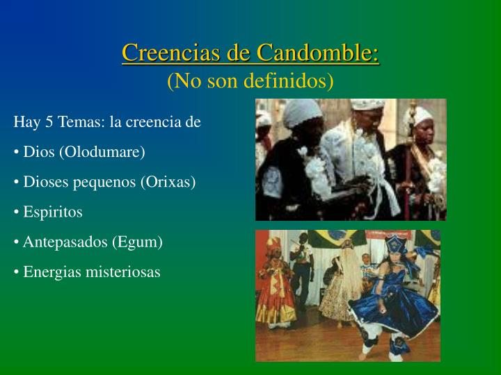 Creencias de Candomble: