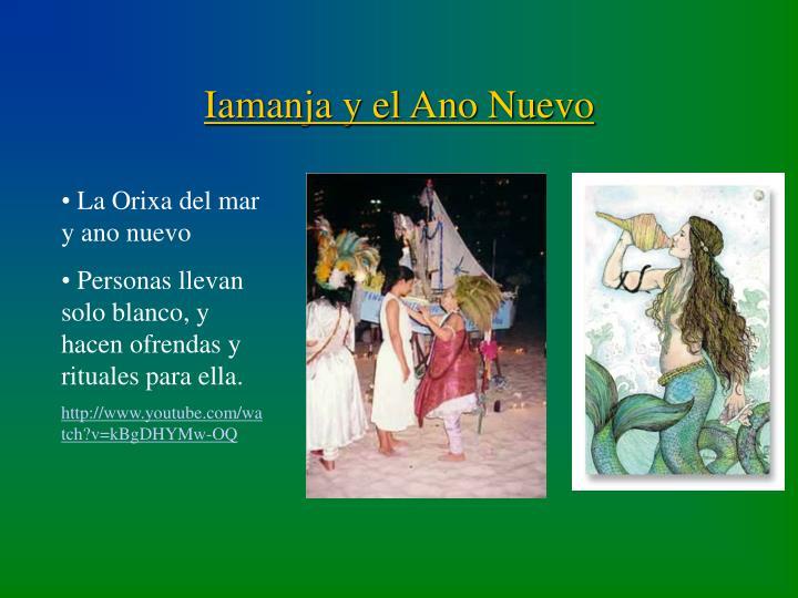 Iamanja y el Ano Nuevo