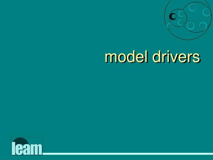 model drivers